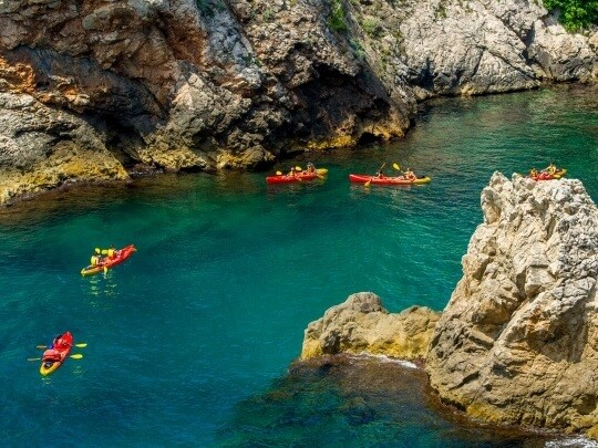 Kayaking Activity Week Dubrovnik