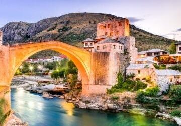 Kravice Waterfalls & Mostar Tour from Dubrovnik